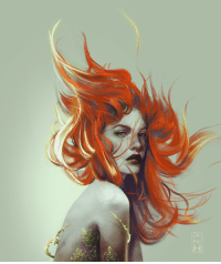 za-ra-h: Poison Ivy - been meaning to paint her for some time now.  Support me,  TWITTER,  INSTAGRAM Print on Society6 : za-ra-h: Poison Ivy - been meaning to paint her for some time now.  Support me,  TWITTER,  INSTAGRAM Print on Society6