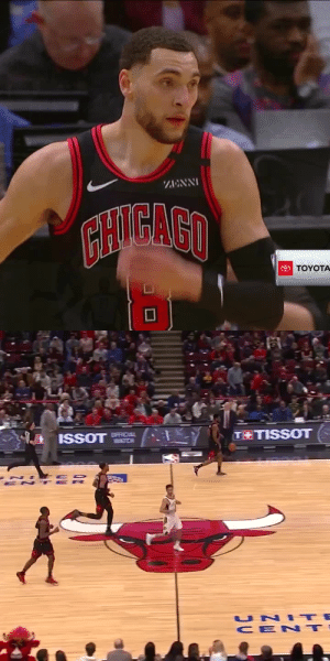 ZACH LAVINE 🔥  43 PTS (20 STRAIGHT!) 14-23 FG 8-13 3PT 7-7 FT   https://t.co/zXlEIek45w: ZACH LAVINE 🔥  43 PTS (20 STRAIGHT!) 14-23 FG 8-13 3PT 7-7 FT   https://t.co/zXlEIek45w
