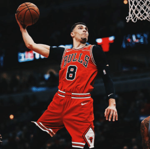 All Star, Nba, and Russell Westbrook: Zach LaVine has scored more points than anyone in the NBA outside of Russell Westbrook since the All-Star break