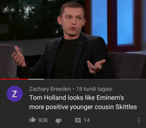 Moms spaghetti via /r/memes https://ift.tt/365HNHQ: Zachary Breeden • 18 tundi tagasi  Tom Holland looks like Eminem's  more positive younger cousin Skittles  1 908  E 14 Moms spaghetti via /r/memes https://ift.tt/365HNHQ