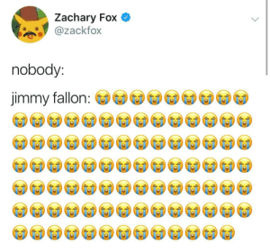 I Guess he likes laughing by EpicRav MORE MEMES: Zachary Fox  ackfox  nobody:  jimmy fallon I Guess he likes laughing by EpicRav MORE MEMES