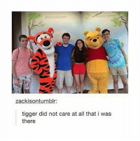 I can't feel my face: zackisontumblr:  tigger did not care at all that i was  there I can't feel my face