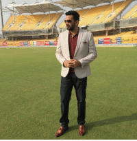 Memes, 🤖, and Dash: Zaheer Khan  looks dashing in this click taken at Chepauk. #INDvENG