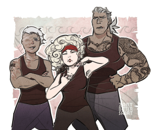 zartbitter-salat:  The trio that founded the kh crew!: ZART  BTTER  SA AT zartbitter-salat:  The trio that founded the kh crew!