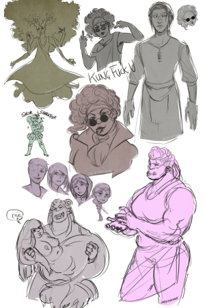 zartbitter-salat:  KH sketches featuring (from left to right) a blooming Dru, Elio being asked if she practices martial arts, a young Rhona, a floating Elio head idk, Rhona the Sailor Senshi (@vanilla-frosted's fault) , Elio bleb, Lya over the   years, Osar carrying Maryn (also @vanilla-frosted's fault) and casual Osar: zartbitter-salat:  KH sketches featuring (from left to right) a blooming Dru, Elio being asked if she practices martial arts, a young Rhona, a floating Elio head idk, Rhona the Sailor Senshi (@vanilla-frosted's fault) , Elio bleb, Lya over the   years, Osar carrying Maryn (also @vanilla-frosted's fault) and casual Osar