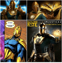 DoctorFate as been Revealed in a New InJustice2 GamePlay Trailer ! 😱 He looks so BadAss, Go watch The GamePlay on YouTube Now ! Comment Below what other DCComics Characters you want to see Appear in ' INJUSTICE 2' ! InJusticeGodsAmongUs 💥 DC: ZATANNA!  SOMETHING IS  COMING  DOCTOR  A INJUSTICE 2  DATE  EV  RY BATTLE D  NES YOU  IGI SOC MARVEL UNITE  ALAN DoctorFate as been Revealed in a New InJustice2 GamePlay Trailer ! 😱 He looks so BadAss, Go watch The GamePlay on YouTube Now ! Comment Below what other DCComics Characters you want to see Appear in ' INJUSTICE 2' ! InJusticeGodsAmongUs 💥 DC