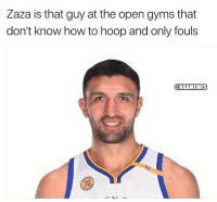 facts😂 nbamemes nba cavs nbafinals warriors: Zaza is that guy at the open gyms that  don't know how to hoop and only fouls  @NBAMEMES facts😂 nbamemes nba cavs nbafinals warriors