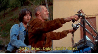 Pulp Fiction, Fiction, and Baby: Zed s dead, baby, Zedos dead. Pulp Fiction (1994)