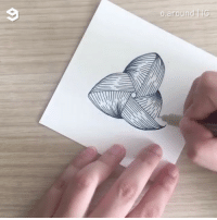 Zen doodling is so relaxing to watch By @o.around - 9gag doodle zendoodle drawing: Zen doodling is so relaxing to watch By @o.around - 9gag doodle zendoodle drawing