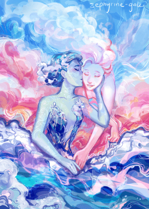 Target, Tumblr, and Blog: zephyrine-gale:  The sea and the sky are girlfriends