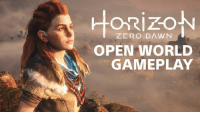 Dank, Dawn, and 🤖: ZERO DAWN  OPEN WORLD  GAMEPLAY Watch us explore, craft, and hunt in Horizon Zero Dawn's sprawling open world. We go hands-on with 20 minutes of gameplay: