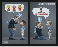 Argentina be like:  Credits: ZEZO Cartoons: ZEZ  ARTOON 1  EUROSPORT  FIFA WORLD CUP  RUSSIA 2018 Argentina be like:  Credits: ZEZO Cartoons