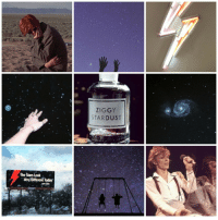 David Bowie, Target, and Tumblr: ZIGGY  STARDUST  The Stars Look  very Different Today everything-moodboards:  david bowie space moodboard for @ufo-the-truth-is-out-there