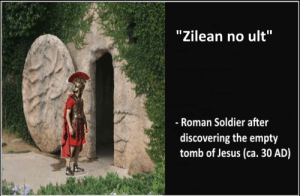 """must have bought GA: """"Zilean no ult""""  - Roman Soldier after  discovering the empty  tomb of Jesus (ca. 30 AD) must have bought GA"""