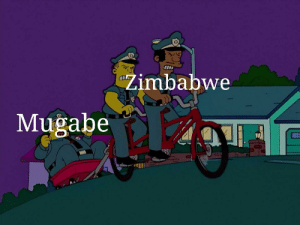 Ding dong the witch is dead: Zimbabwe  Mugabe Ding dong the witch is dead
