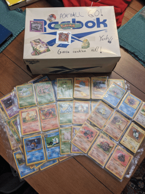Rediscovered some of my old Pokemon cards when I came up for the holidays! Are these things worth anything?: ZIN DEST NOVELS  O  POK BALL  ok  Yeahy  R  tedic  PakeMON  R  PokeMay  afts cateh  SPO  AT  SRO7  #95 OnixM  Cotta calch bm  all  #106 Hitmonlee  JUN  GOtta carch'em  UMGL  Reebok  kans  100 H  Rhydon  70 HP  Shellder  Rhyhorn  Caterpie  Cloyster  hon Accack  Lnge  Ler pcou if eads, the Dendn  can'Y a Rhyho jring  your epponen urn(ehing  eaher Pkimon ends effect)  Ram as0  y e e  he or e  widh she Del P  g he g he he  e A  Sorpersonic the  Delending Po  ietpoke  エリカのフシギソウ  Hide in Shel  Lengt w  30  Co  Ron Attack  String Shec co  heads, the DendPokemon 10  is now Paralyd  Paie  Bulbasaur  ty r Pying  g  et tipd w  slap d  Pi  Sandshrew  Spike Cammen e 2 Th a  くつろぐかおり  AV  30  w  Bes Pkimn  ダブルはっぱカッター40。  Growlithe  40 HP  P  30х  にげる  Leech Seed Unless all damage  from this attack is prevented, you  may remove 1 damage counter  from Bulbasaur  20  F  Lullaby The De  now Asleep  Saed Pokian Longthe 4, Waight 1  Weedle  eeat cost  Me Pokon Length weigh 24 s  Sandslash  Pound  Sand-attack the Delending  Pokémon tries to attack during your  wwlyth  Gastly  LW3 HP50  opponench next turn, your opponene 0  ips a coin. If tas that attack does  g  わるいリザード  Pppy P on Length 4 Weigh  ed wes planed n s bec T pit  nothing  ed nd w g wh hi Po 13  oin  now Asle  Enery  Flare  Hairy Bug Pokémon Length 1 Weigh  Sleeping Ga F  Bod  deep wedge  ey eerges o d lotn me  マチスのコイル  Poison Sting Flip a colin.  heads, the Defending Pokémd  is now Poisoned  50 H  Mo P Length .wighe AS  CP  e eed  resistance  Pki  akness  Charmander  Oefending Pok  at cast  Very protectie of n teritery t will bg  treders pr it space V1 a  KAMY RA11m 19g  しっぽでたたく  ファイヤーボール  W.HP40  resistance  20  Slash  as Peki  Fury Swipes Fo 3 coins This  attack does 20 damage times the  number of heads  Open found Ia forests, eating eare  wmu stinger en itu head, CV. 1 B1  oppiecs  Geodude  wakness  akne  70  20  Co