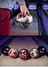 Memes, Zombies, and Bowling: Zombie Bowling Balls... These are so cool :)