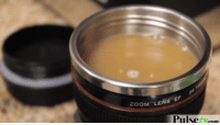 awesomage:  Camera Lens Coffee Mug: ZOOM LENS E  Pulse tcom awesomage:  Camera Lens Coffee Mug