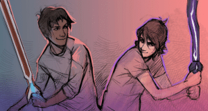 Target, Tumblr, and Blog: zuzartii:so I heard we can draw them with sw o r d s n o w