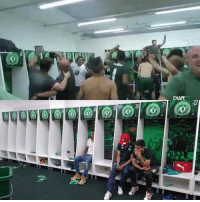The locker room before and after the tragedy 💔  #WeAreWithYou #FORCACHAPE  #maddy: ZZ  20 The locker room before and after the tragedy 💔  #WeAreWithYou #FORCACHAPE  #maddy