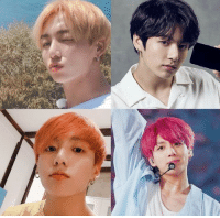 Hair, Okay, and Hope: ~ damn  kookie has gone through about 4 hair colors in less than 8 months 💕 he has really made 2018 his year 🌈 on the other hand, I hope his hair is doing okay ~