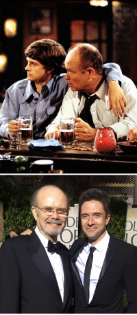 Eric and Red Forman from That 70s Show reunited 😭: ーぶ   DE Eric and Red Forman from That 70s Show reunited 😭