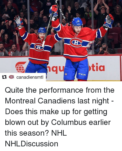 ti chr canadiensmtl tia quite the performance from the montreal 8707701 ✅ 25 best memes about montreal canadiens montreal canadiens memes,Montreal Canadians Memes