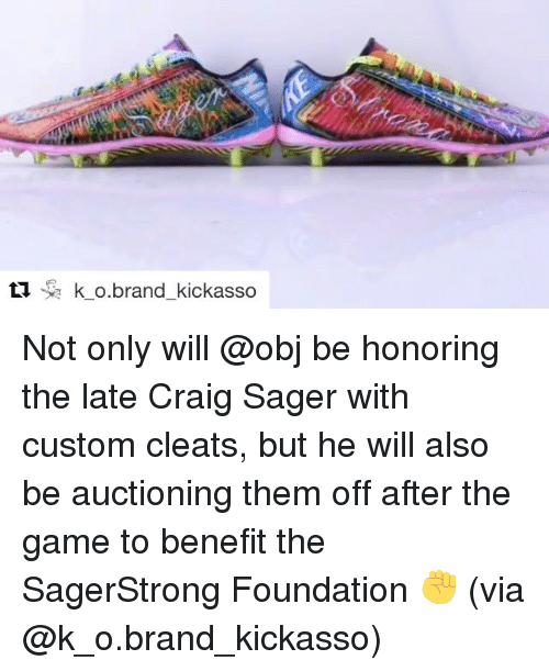 Ti K O Brand Kickasso Not Only Will Be Honoring the Late Craig Sager ... 1e2c0092c