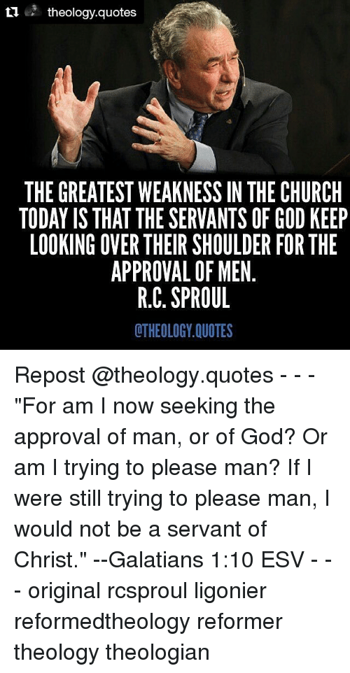Ti Theology Quotes The Greatest Weakness In The Church Today Is That