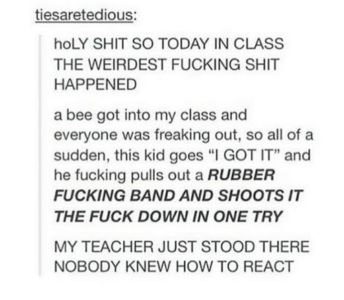 Fucked in band class
