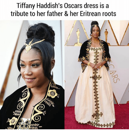 Memes, Oscars, and Dress: Tiffany Haddish's Oscars dress is a  tribute to her father & her Eritrean roots