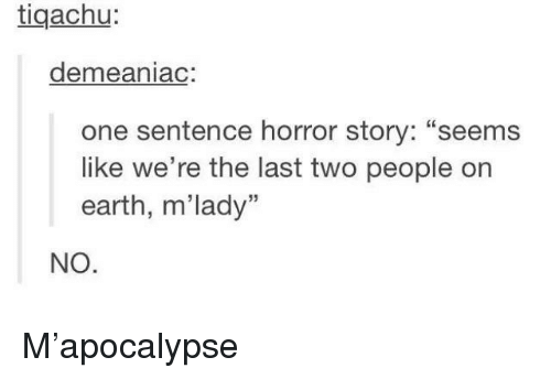 on the earth sentence