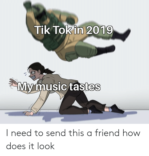 Tik Tok In 2019 My Music Tastes I Need To Send This A Friend