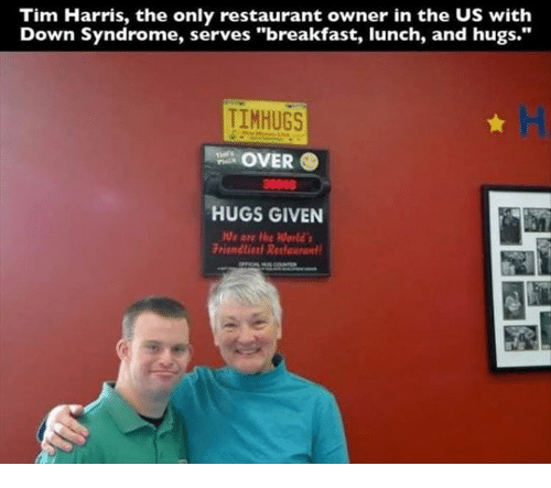 Tim Harris The Only Restaurant Owner In The Us With Down Syndrome