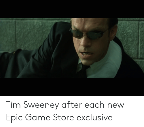 Tim Sweeney After Each New Epic Game Store Exclusive   Game