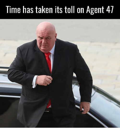 Memes, 🤖, and Agent 47: Time has taken its toll on Agent 47