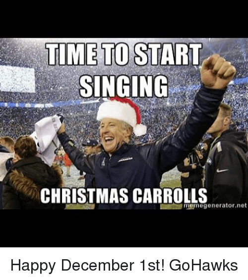 christmas meme and memes time to start singing christmas carroll meme generator net - Merry Christmas Meme Generator