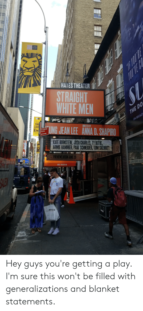times square hayes theater straight white men 0a th directed by tung rh me me
