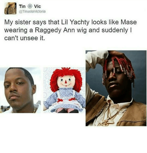 tin vic my sister says that lil yachty looks like 10006827 ✅ 25 best memes about lil yachty lil yachty memes