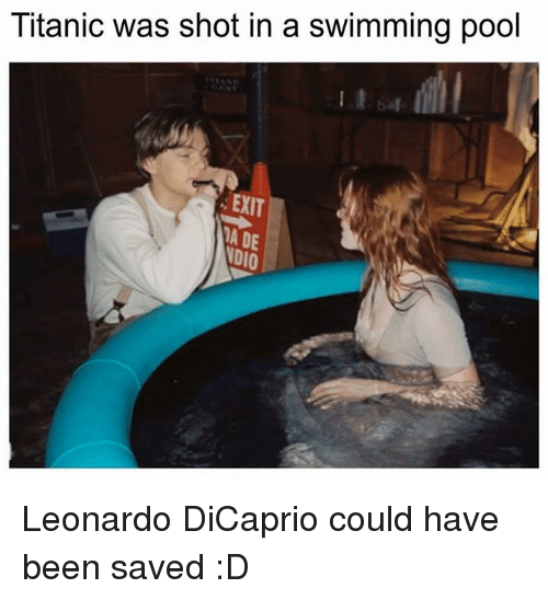 25 best memes about titanic titan titans dank and - Did the titanic have swimming pools ...