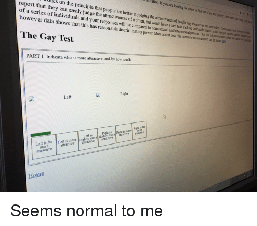 the best gay test