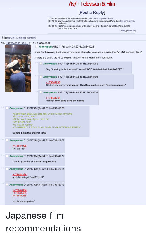 Tl-Television & Film Post a Reply 100416 New Board for 4chan Pass
