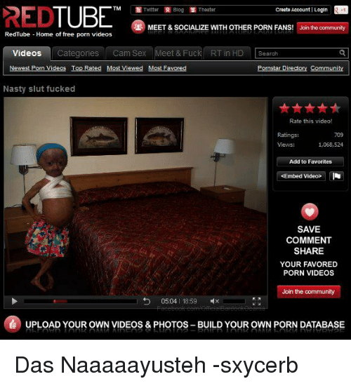 Red tube free video