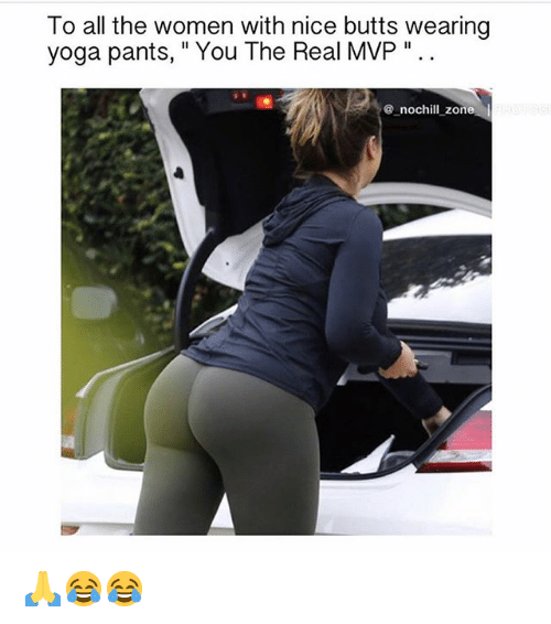yoga pants ass Nice