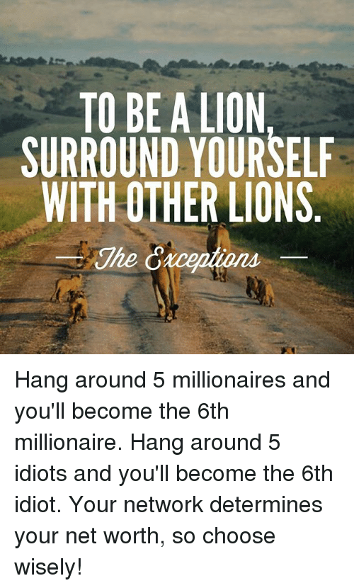 Where do millionaires hang out