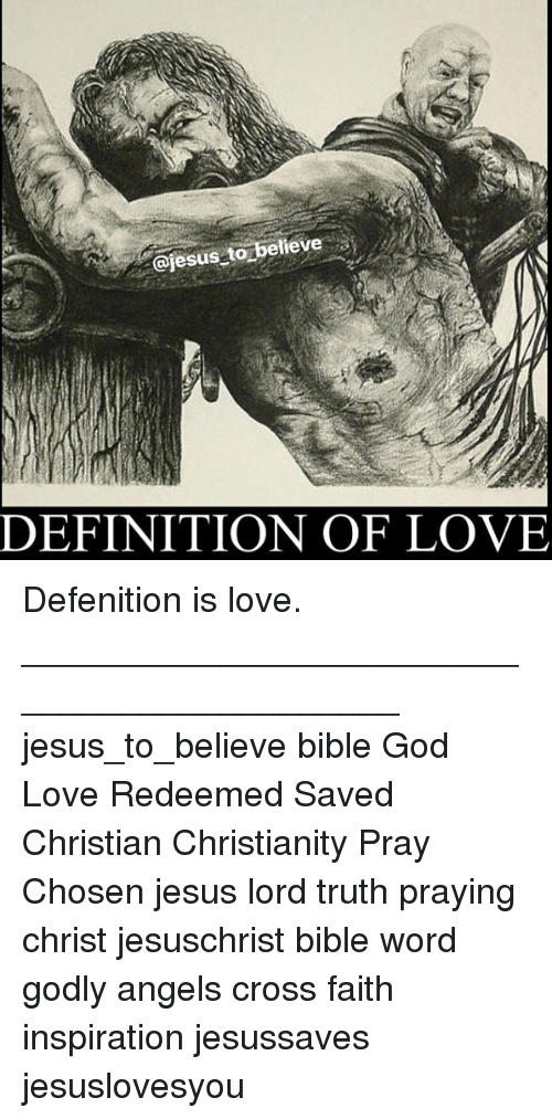 Definition of being saved christian