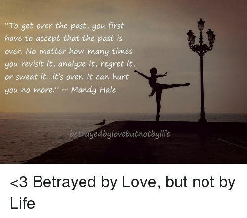 How to get over a past love