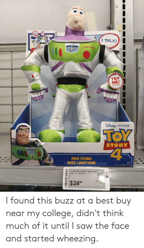 To INFINITY& BEYOND! NTYTAT I TALK! SPACE RANGER LIGHTYEAR