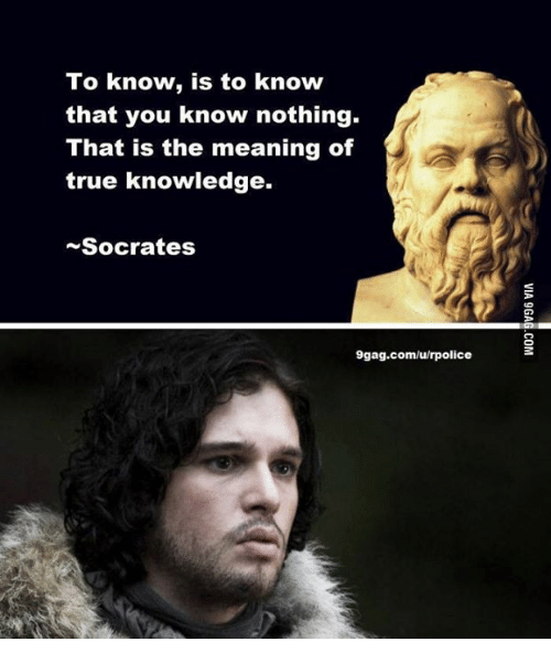 the definition of knowledge according to socrates According to socrates, virtue is knowledge,  socrates' thesis virtue is knowledge has the consequence that the one who knows  it's not a definition of words.