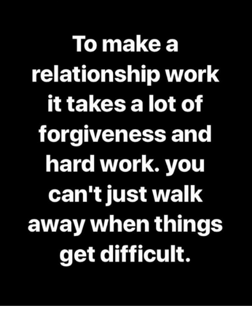 for a relationship to work